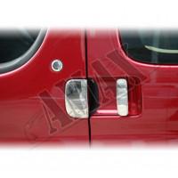 Хром на ручки дверей 5шт для Peugeot Partner (2005 - ...)