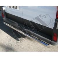 Защитная дуга заднего бампера для Peugeot Boxer