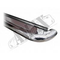 Пороги боковые (площадкой) для Peugeot Boxer