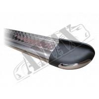 Защитная дуга переднего бампера (кенгурятник) для Peugeot Boxer