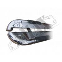 Пороги боковые (площадкой) для Renault Kangoo