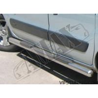 Пороги боковые (трубы) для Renault Kangoo