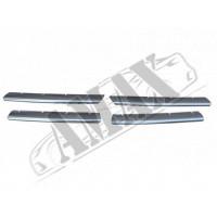 Накладки на решетку радиатора (4 штуки)