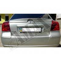 Антикрыло (сабля) на край багажника для Toyta Avensis