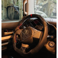 Рулевое колесо, Руль (карбон-кожа) Тойота Фджи Крузер_ Toyota FJ Cruiser (2004-2015)