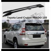 Рейлинги на крышу (черные-металл) Тойота Ленд Крузер Прадо_ Toyota Land Cruiser Prado 150 (2009-2021)