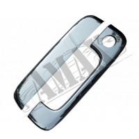 Хром на ручку двери багажника (нержавейка) для Citroen Berlingo (2002 - 2007)