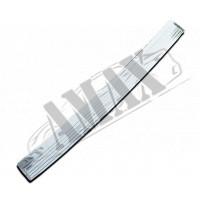 Накладка на задний бампер (нержавейка) для Fiat Doblo
