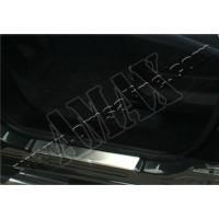 Накладки на дверные пороги 2 шт (нержавейка) для Fiat Doblo (2010 - ...)
