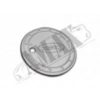 Хром на люк бензобака (нержавейка) для Tourneo Connect