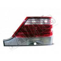 Задние фонари диодные (светлые) на Mercedes W140