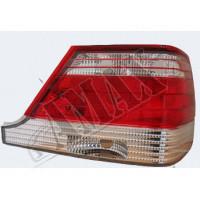 Задние фонари (лампочка) светлые на Mercedes s-class W140 (комплект с планочкой)