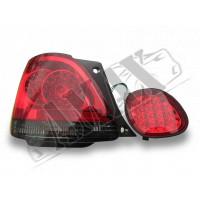 Задние фонари диодные (темные) для Lexus GS-300 (98 - 05)