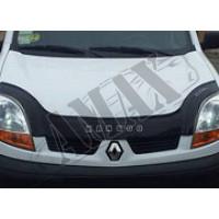 Дефлектор капота (мухобойка) для Renault Kangoo (1998 - 2007)
