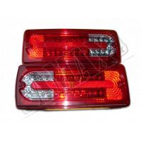 Задние фонари диодные светлые на Mercedes Gelandewagen