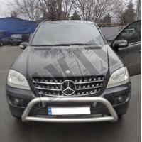 Решетка радиатора (черная) Мерседес Бенц_Mercedes Benz ML164 (2005-2008)