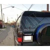Задние фонари диодные (темно-красные) Тойота Ленд Крузер Прадо_Toyota Land Cruiser Prado 90 (1996-2002)