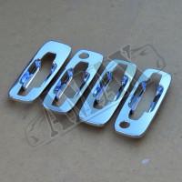 Хром на ручки дверей (мыльницы)_Nissan X-Trail (2002-2006)