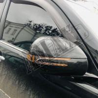 Корпуса зеркал с повторителем поворотов (Mercedes style), Тойота Ленд Крузер Прадо_Toyota Land Cruiser Prado 120 (2003-2008)