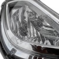 Противотуманные фары переднего бампера на Хюндай Акцент от 2011 +
