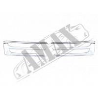 Накладки на решётку радиатора (нержавейка)