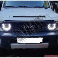 Передняя оптика, линза-диоды (подкова) Тойота Фджи Крузер_Toyota FJ Cruiser (2004-2015)