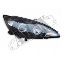 Оптика головная (линза) на Toyota Camry 30 - в черном цвете