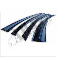 Ветровики в sport-style (дефлекторы) на Chevrolet Cruze 10+