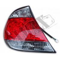 Задняя диодная оптика - тонированная - на Toyota Camry 30