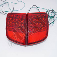 Задние противотуманные фонари (красные) Лексус_Lexus LX-570 (2008-2015)