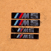 "Логотип ( эмблема ) на крыло ""М5"" (2 шт)"