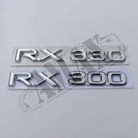 Надпись RX300, RX330