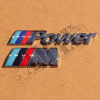 Логотип хром (М, М3, М5, Power)