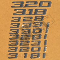 Надпись 320i-333i
