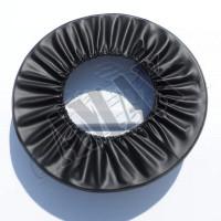 Чехол запаски для кроссовера Suzuki Grand Vitara (98-04): белый / серебристый / под покраску