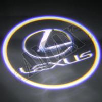 Логотип-подсветка в карту дверей (врезная) Лексус_Lexus