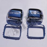 Корпуса зеркал с повторителями поворотов Мерседес_Mercedes Gelandewagen (1986-2015)