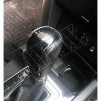 Ручка акпп (черная кожа-черное дерево) Тойота Ленд Крузер Прадо_Toyota Lend Cruiser Prado 150 (2013-2017)