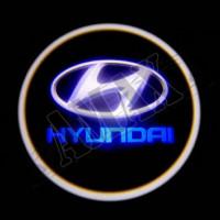 Логотип проектор в двери
