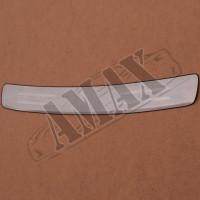 Накладка на задний бампер с лого