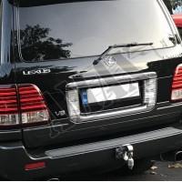 Фаркоп металлический универсальный (хромированный) Тойота, Лексус_Toyota, Lexus