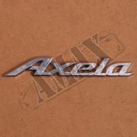 Надпись Axela