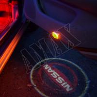 Логотип-подсветка на карту дверей