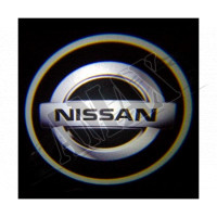 Логотип-подсветка в карту дверей_Nissan