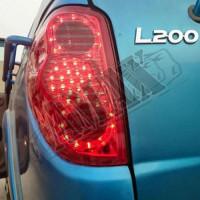 Задние светодиодные фонари (RED) Митцубиси Л200_ Mitsubishi L-200 (2006-2014)