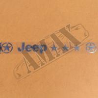 Наклейка лобового стекла (Jeep)