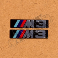 "Логотип ( эмблема ) на крыло ""М3"" (2 шт)"