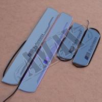 Накладки на пороги с подсветкой (оргстекло) БМВ_BMW