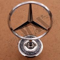 Эмблема на капот (прицел) в штатное место Mercedes W140 (1991-1998)