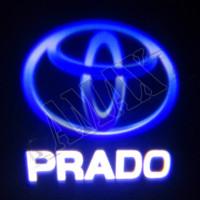 Логотип подсветка в карту дверей штатная_Toyota Prado 150